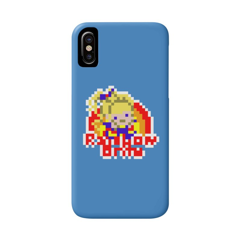 Magical Girl Accessories Phone Case by Aled's Artist Shop