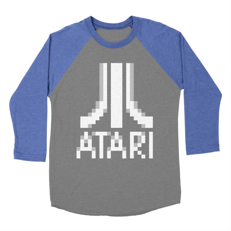 Video Games Men's Baseball Triblend T-Shirt by Aled's Artist Shop