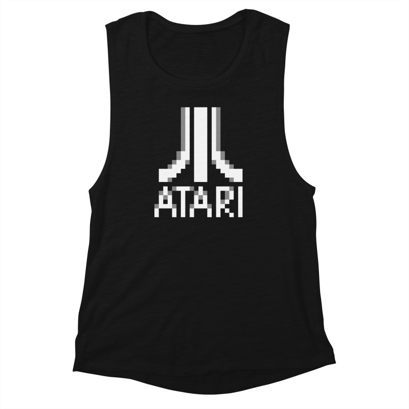 Video Games Women's Muscle Tank by Aled's Artist Shop