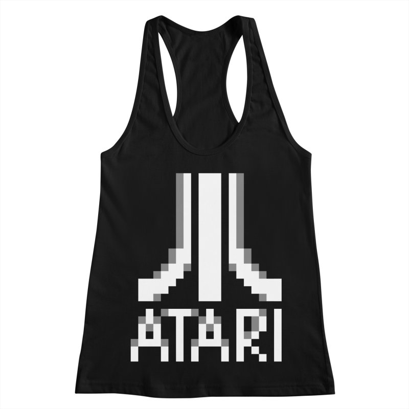 Video Games Women's Racerback Tank by Aled's Artist Shop