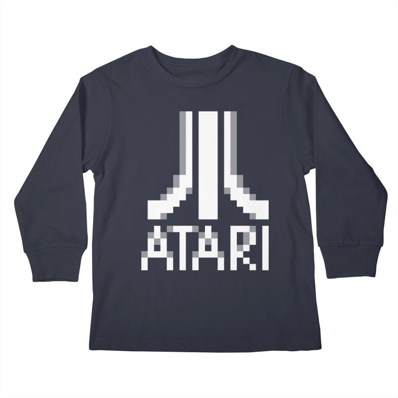 Video Games Kids Longsleeve T-Shirt by Aled's Artist Shop