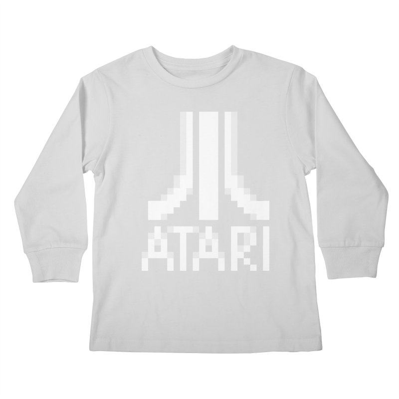 Video Games Kids Longsleeve T-Shirt by Aled's Artist Shop