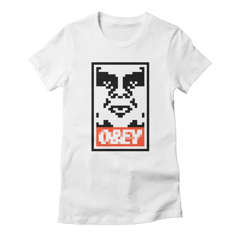 Street Art Women's T-Shirt by Aled's Artist Shop