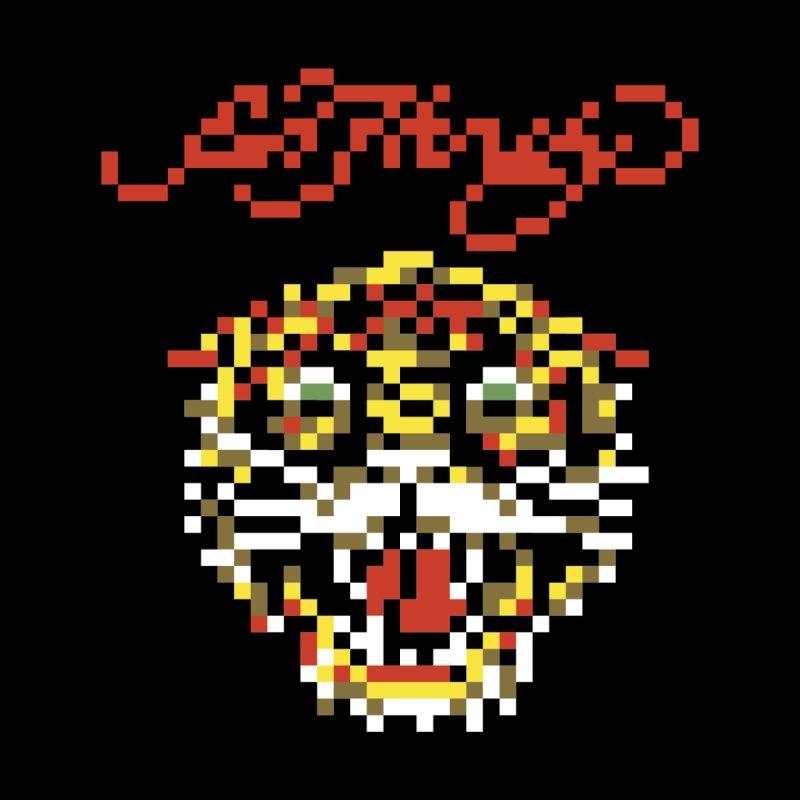 Tasteful Tiger Men's T-Shirt by Aled's Artist Shop
