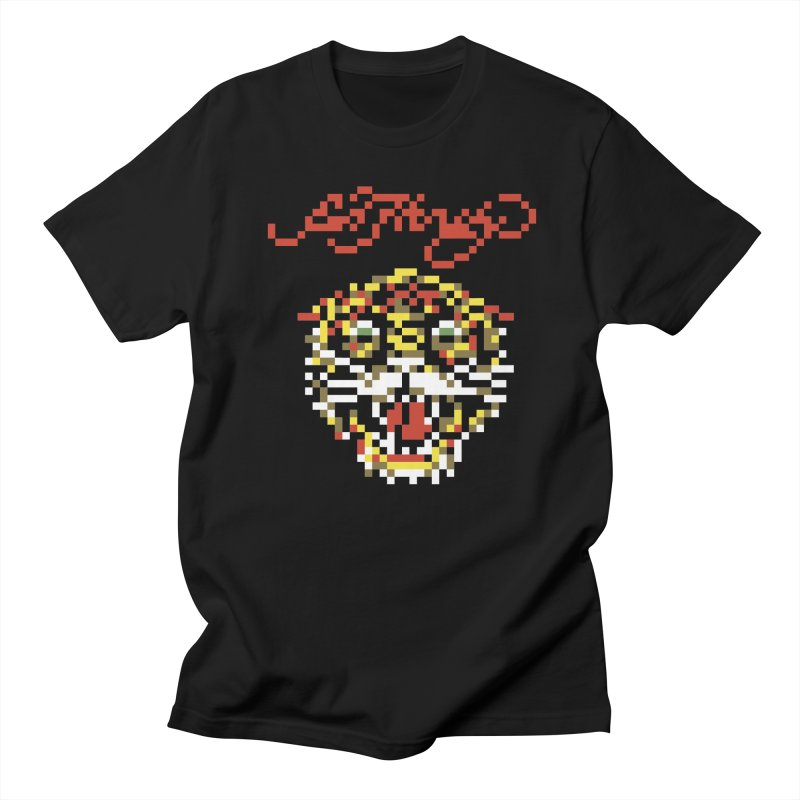 Tasteful Tiger Men's Regular T-Shirt by Aled's Artist Shop