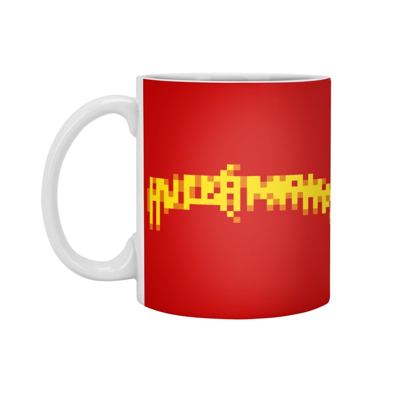 Wrestling Frenzy Accessories Standard Mug by Aled's Artist Shop