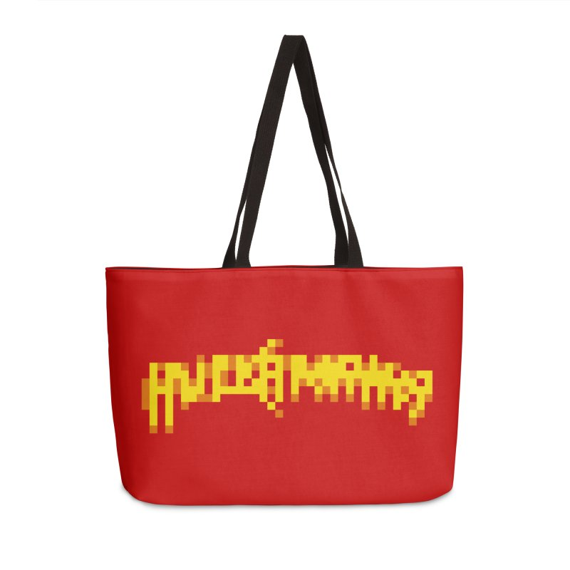Wrestling Frenzy Accessories Bag by Aled's Artist Shop