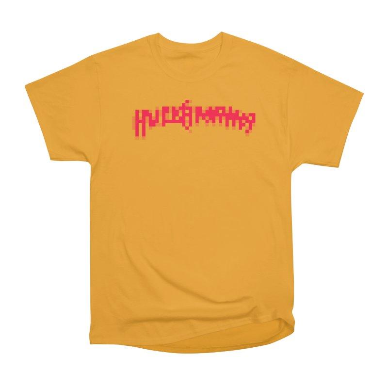 Wrestling Frenzy Women's Heavyweight Unisex T-Shirt by Aled's Artist Shop
