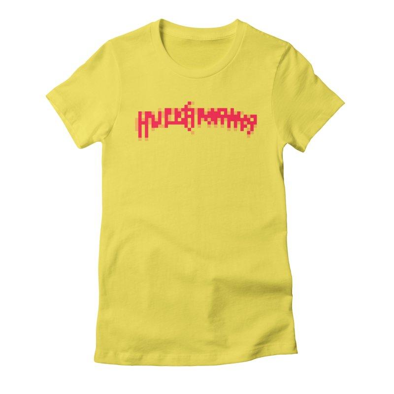 Wrestling Frenzy Women's T-Shirt by Aled's Artist Shop