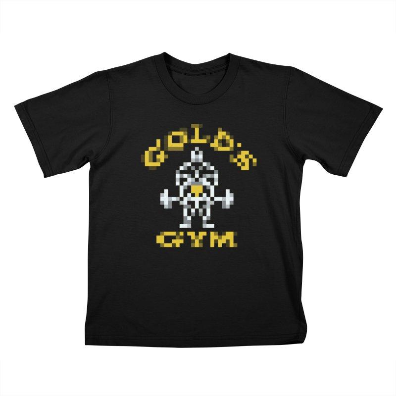 Hunk Club Kids T-Shirt by Aled's Artist Shop