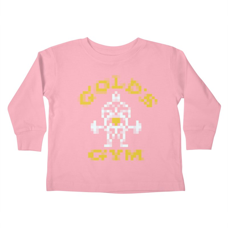 Hunk Club Kids Toddler Longsleeve T-Shirt by Aled's Artist Shop