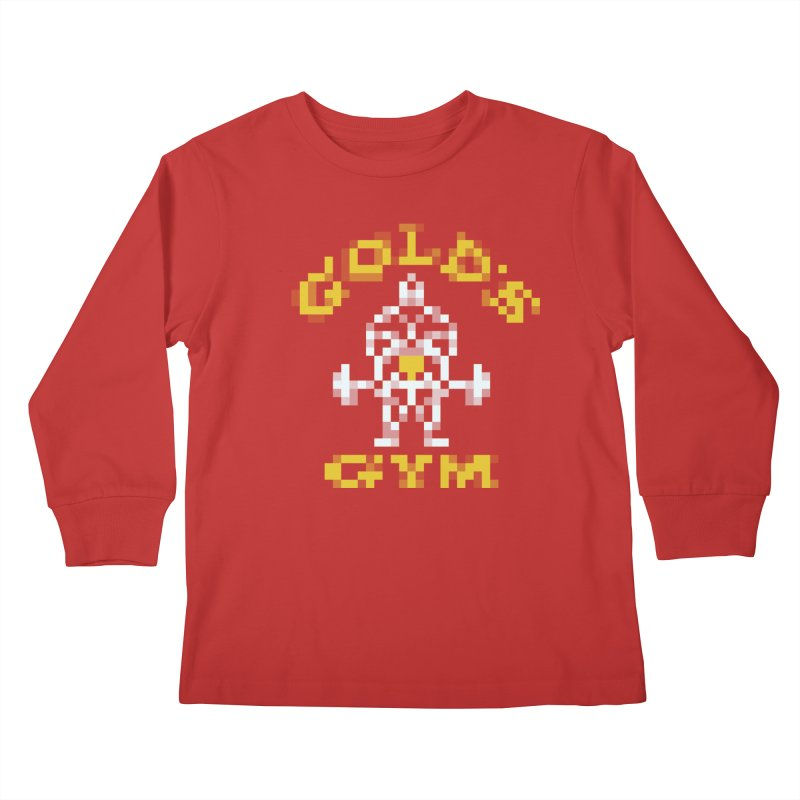 Hunk Club Kids Longsleeve T-Shirt by Aled's Artist Shop