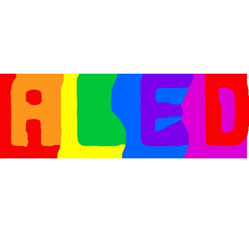 Aled's Artist Shop Logo