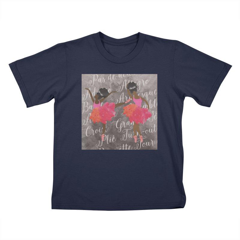 MELANIN DANCES Kids T-Shirt by alegnaart's Artist Shop