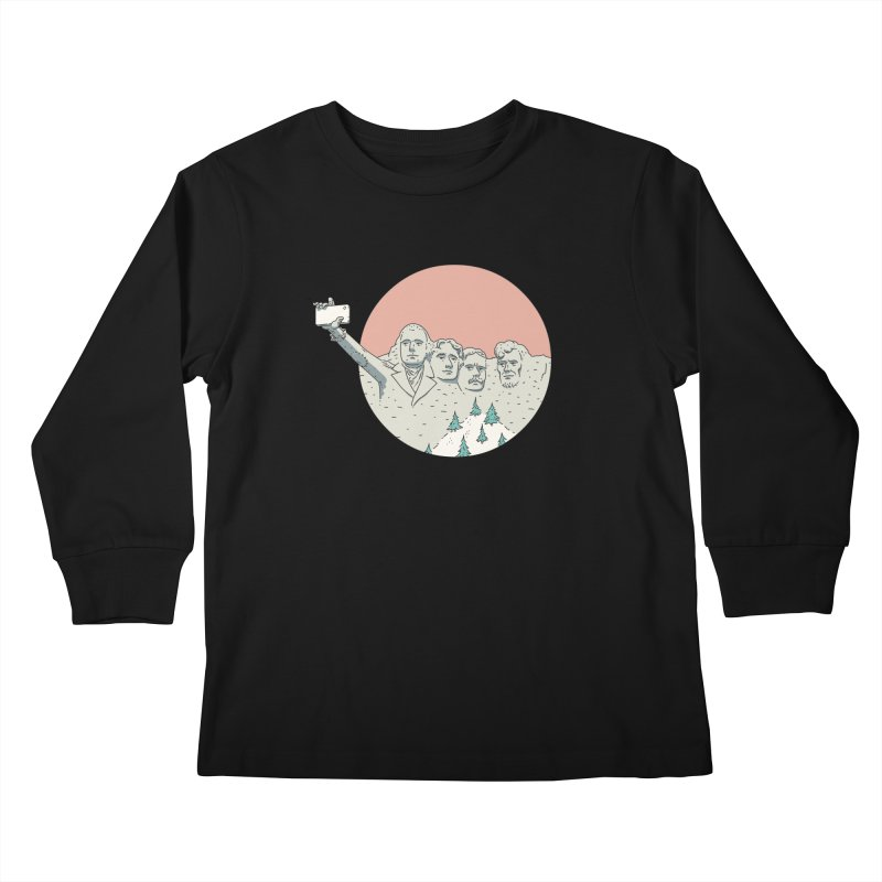 USSIE Kids Longsleeve T-Shirt by Alejandroid's Artist Shop