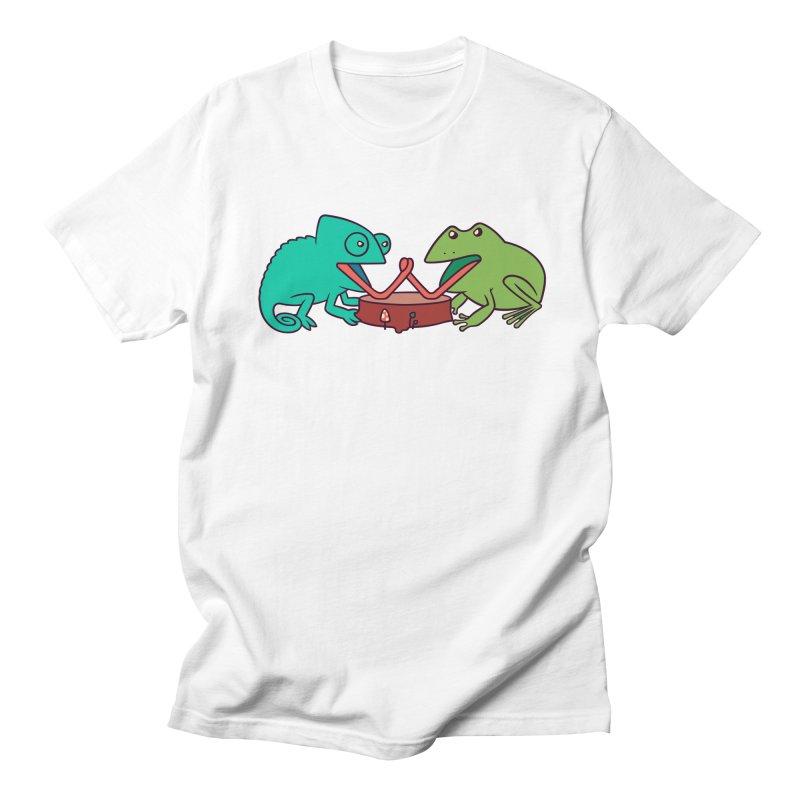 Let's Settle This Men's Regular T-Shirt by Alejandroid's Artist Shop