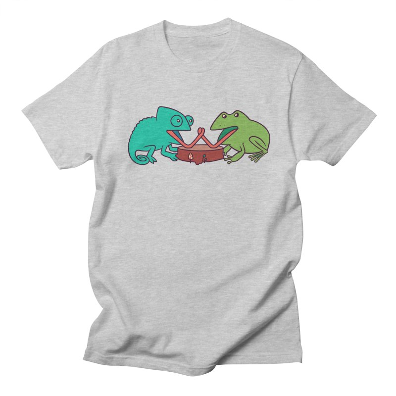 Let's Settle This Men's T-shirt by Alejandroid's Artist Shop