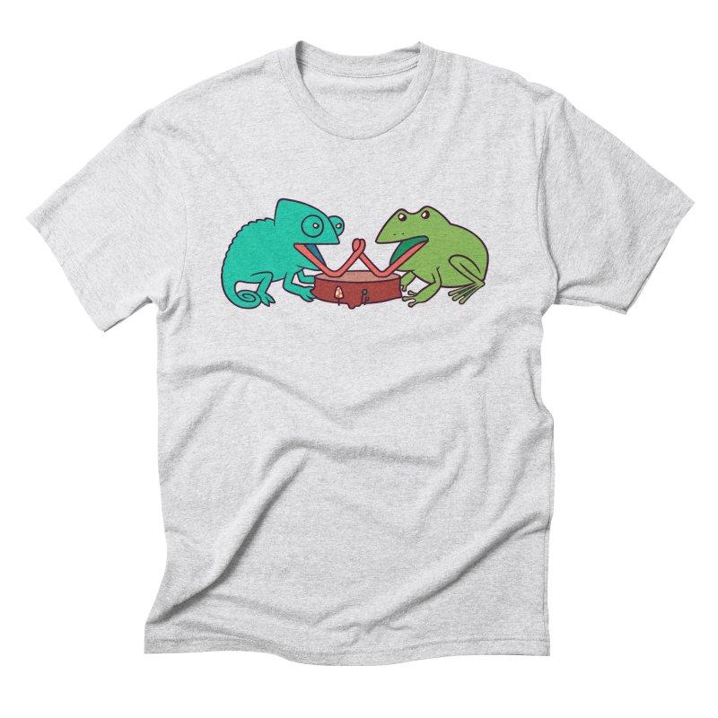 Let's Settle This Men's Triblend T-Shirt by Alejandroid's Artist Shop