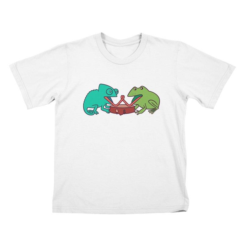 Let's Settle This Kids T-Shirt by Alejandroid's Artist Shop