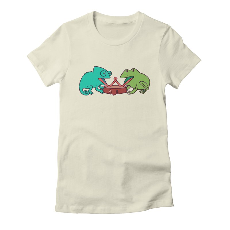 Let's Settle This Women's Fitted T-Shirt by Alejandroid's Artist Shop