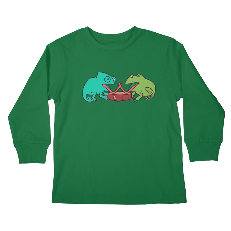 Let's Settle This Kids Longsleeve T-Shirt by Alejandroid's Artist Shop