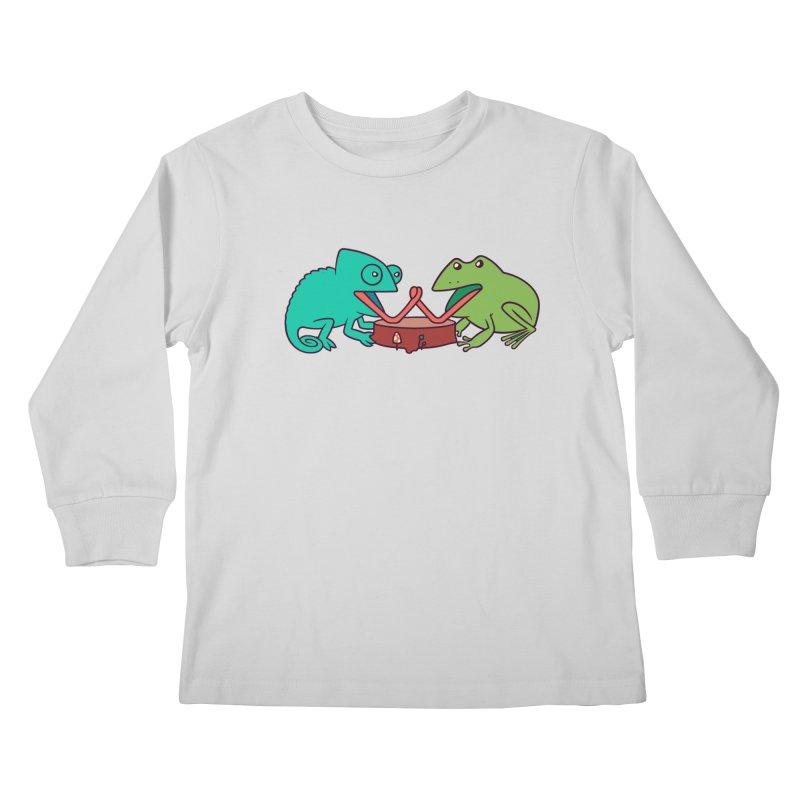 Let's Settle This Kids Longsleeve T-Shirt by Alejandroid's Artist Shop