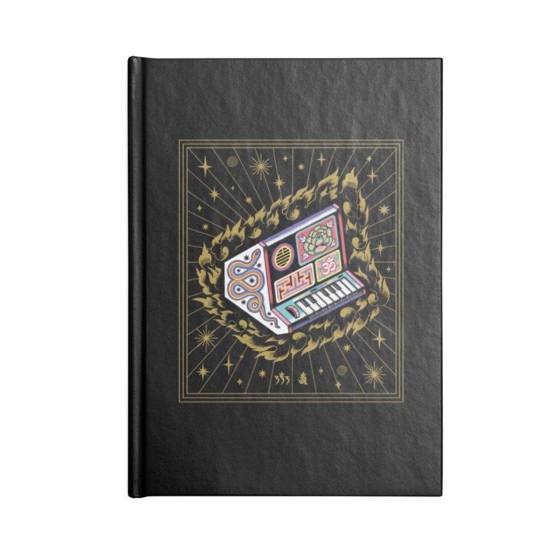 Talisman Fuego Dorado Accessories Notebook by ALEJANDRO SORDI
