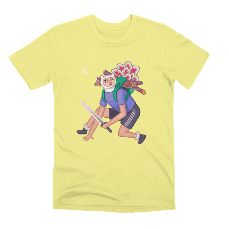 Finn the Humanoid Men's Premium T-Shirt by alejandro sordi