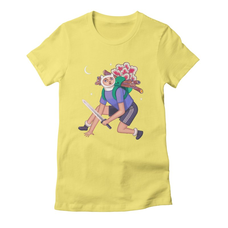Finn the Humanoid Women's Fitted T-Shirt by alejandro sordi