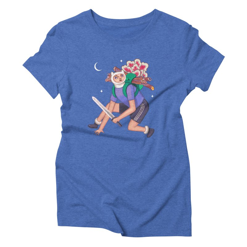 Finn the Humanoid Women's Triblend T-Shirt by alejandro sordi