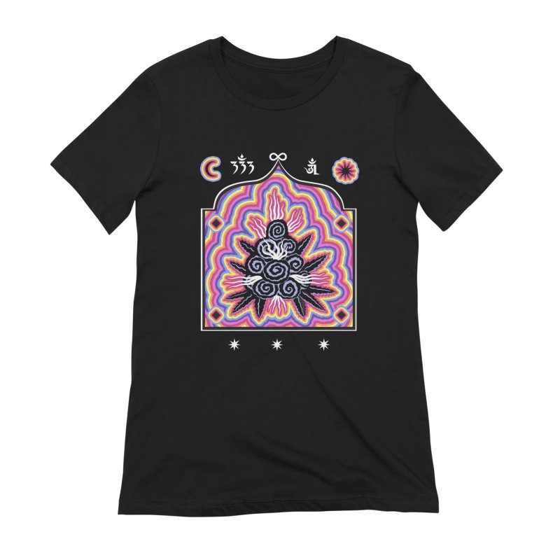 Cosmic Vision Temple Women's Extra Soft T-Shirt by alejandro sordi