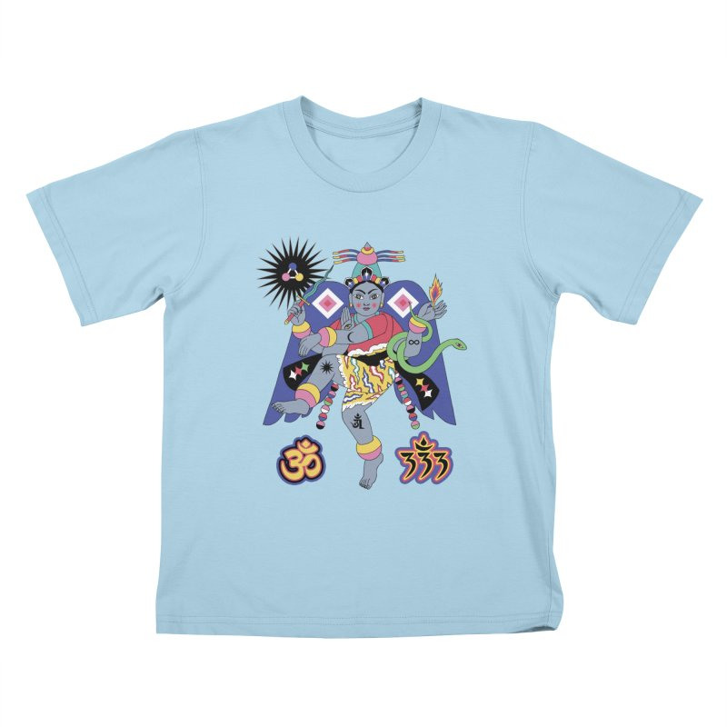 CARACOLA Kids T-Shirt by alejandro sordi
