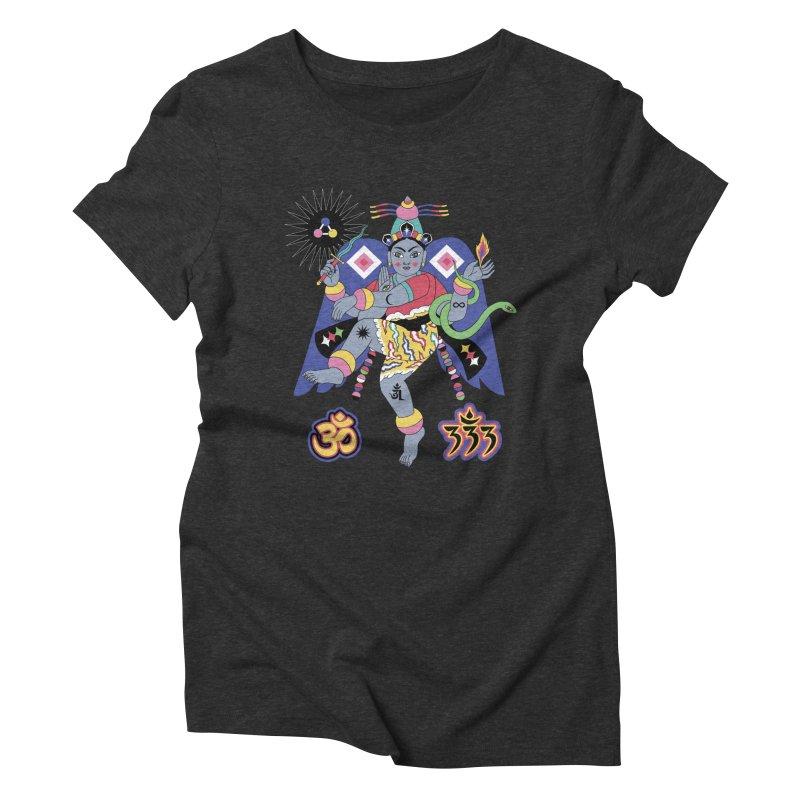 CARACOLA Women's Triblend T-Shirt by alejandro sordi