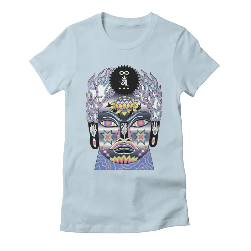 Intergalactico Women's Fitted T-Shirt by alejandro sordi