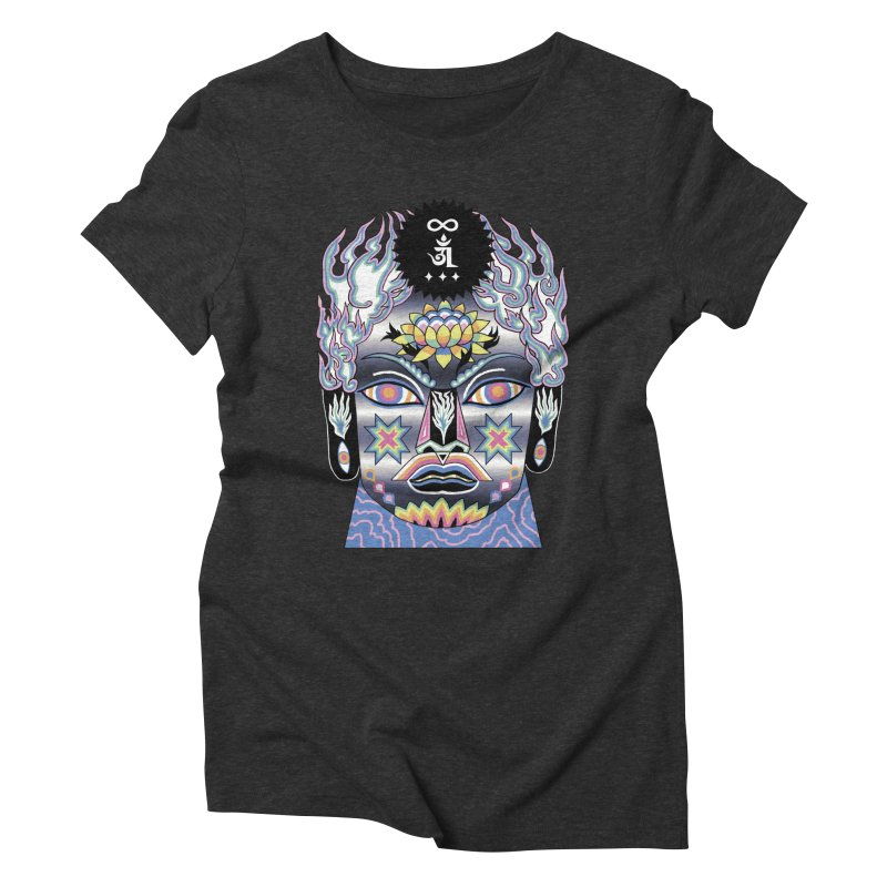 Intergalactico Women's Triblend T-Shirt by alejandro sordi