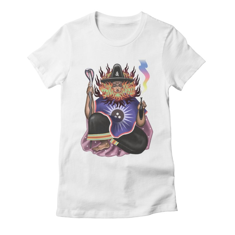 El Sol Women's Fitted T-Shirt by alejandro sordi