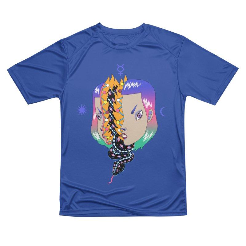 La Serpiente Women's Performance Unisex T-Shirt by alejandro sordi