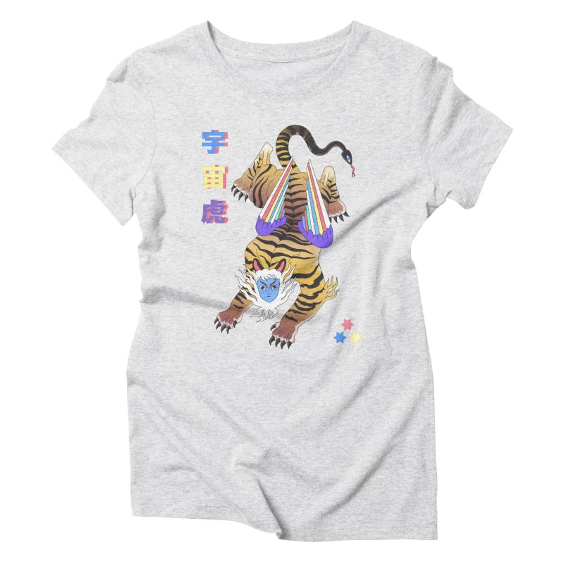 Tigre Cosmico Women's Triblend T-Shirt by alejandro sordi
