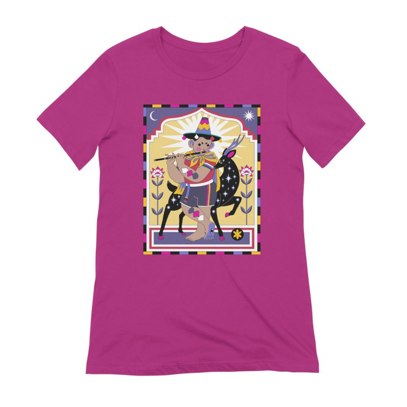El Flautista Women's Extra Soft T-Shirt by alejandro sordi