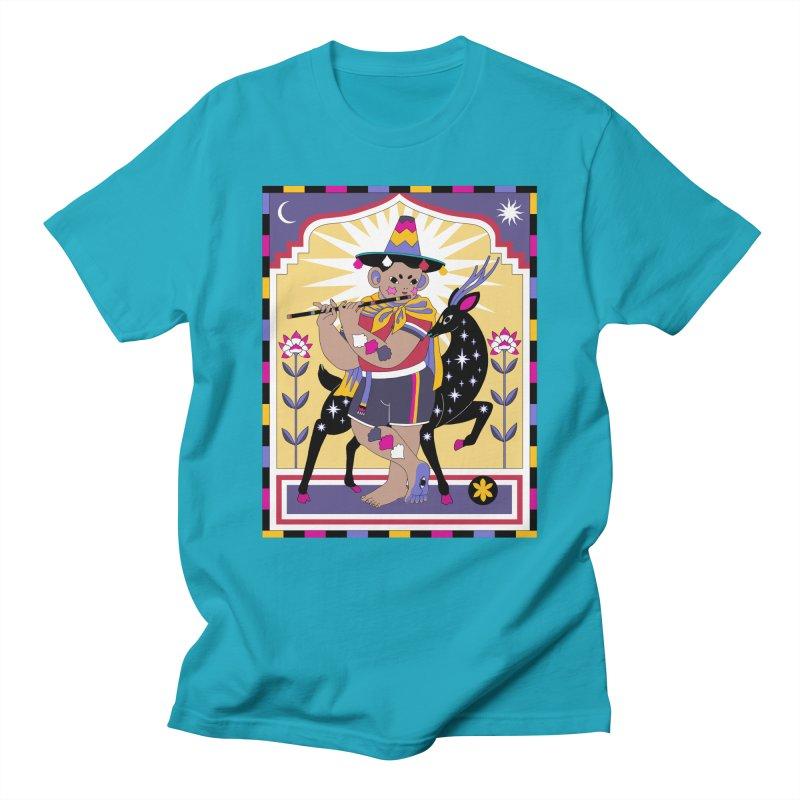 El Flautista Women's Regular Unisex T-Shirt by alejandro sordi