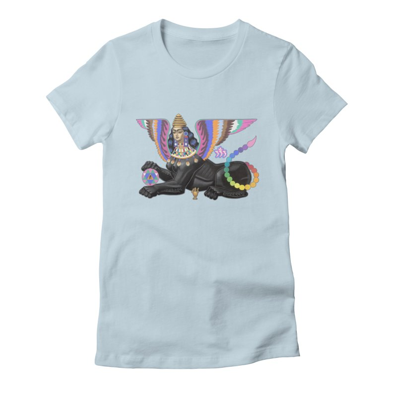 Esfinge Planetaria Women's T-Shirt by ALEJANDRO SORDI
