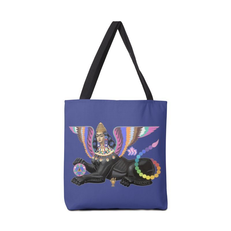 Esfinge Planetaria Accessories Bag by ALEJANDRO SORDI