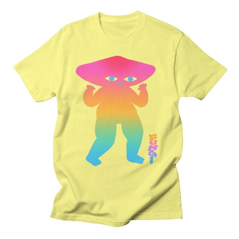 Fungi Men's T-Shirt by ALEJANDRO SORDI