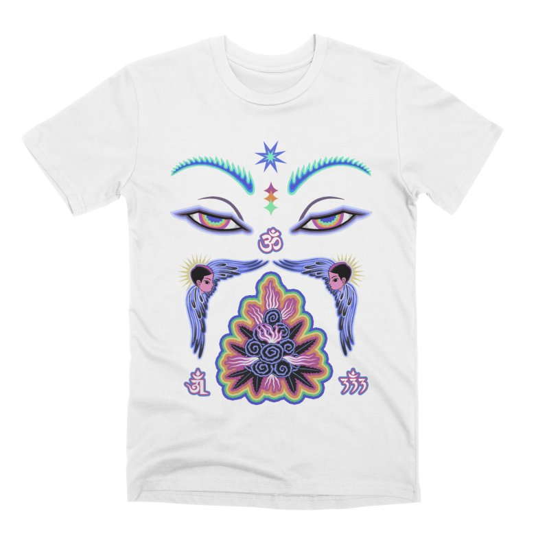 Cosmic Vision Men's T-Shirt by ALEJANDRO SORDI