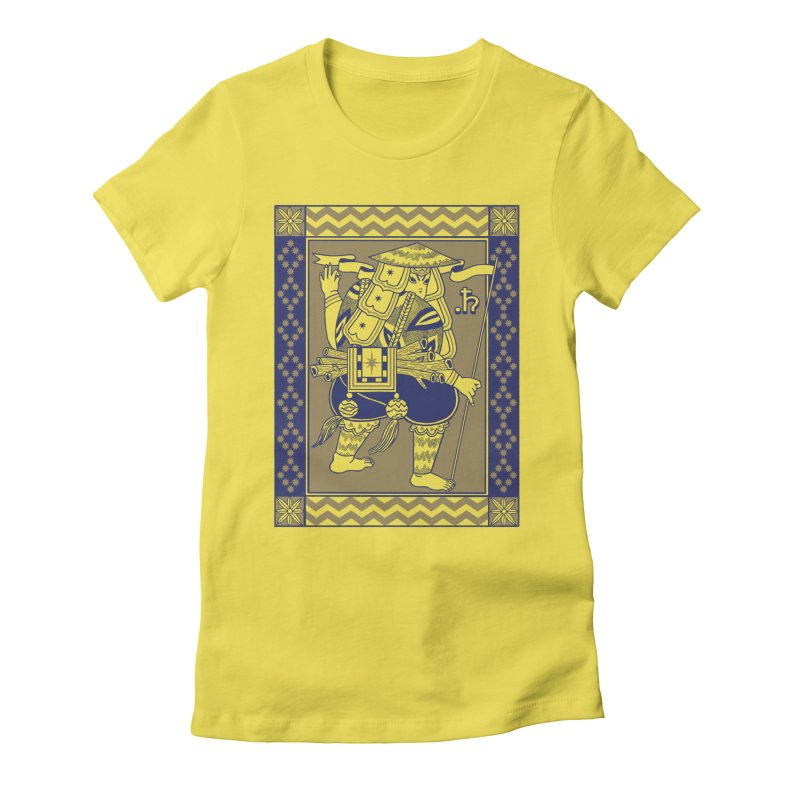 Guardian Women's Fitted T-Shirt by alejandro sordi