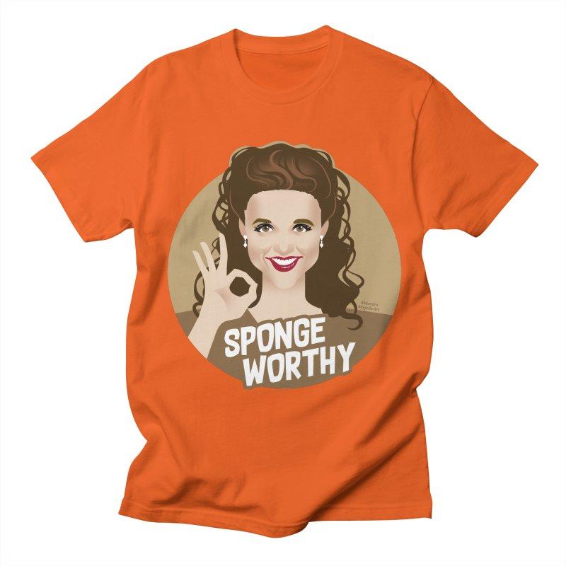 Sponge worthy Women's Regular Unisex T-Shirt by Ale Mogolloart's Artist Shop