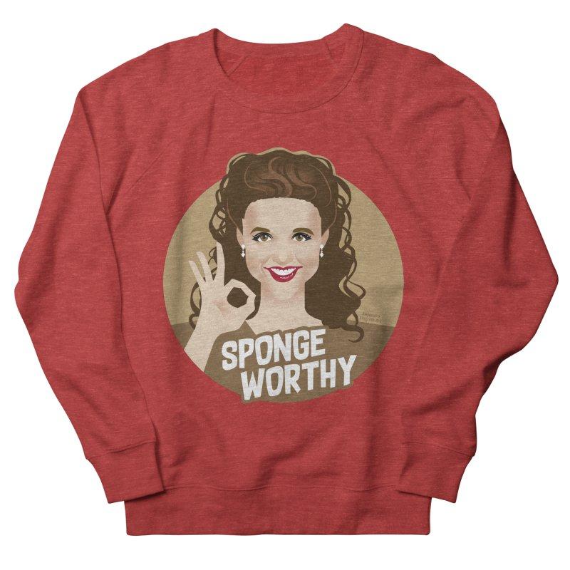 Sponge worthy Men's French Terry Sweatshirt by Ale Mogolloart's Artist Shop