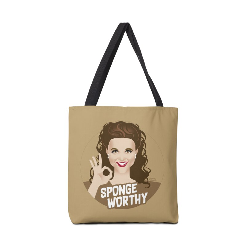 Sponge worthy Accessories Tote Bag Bag by Ale Mogolloart's Artist Shop