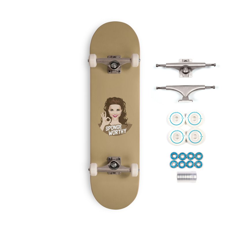 Sponge worthy Accessories Complete - Basic Skateboard by Ale Mogolloart's Artist Shop