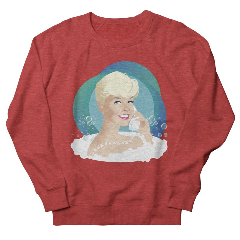 Pillow talk Women's French Terry Sweatshirt by Ale Mogolloart's Artist Shop